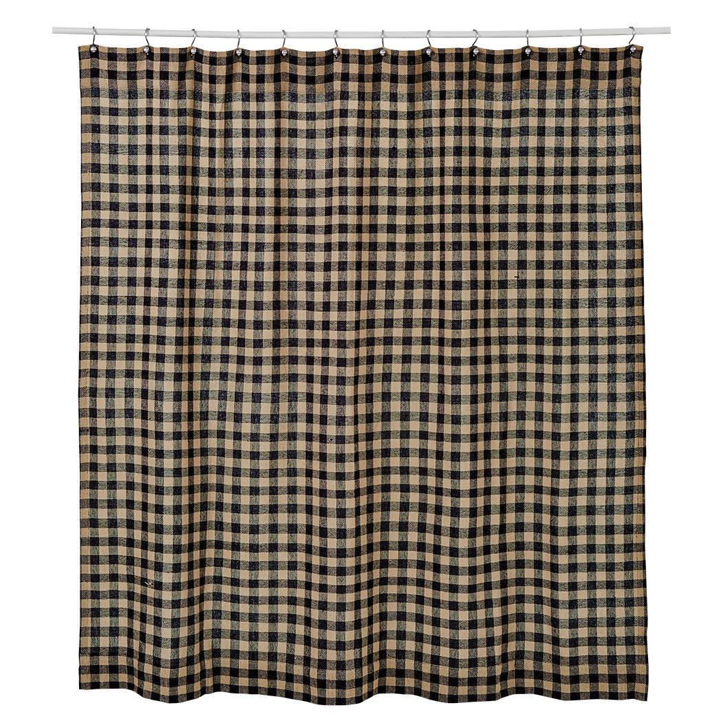 ideas gray lovely personalized shower stylish idea and tan red curtain plaid checkered black