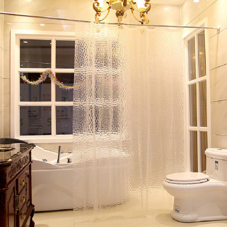 Nice Ideas Clear Shower Curtain The Homy Design pertaining to proportions 900 X 900