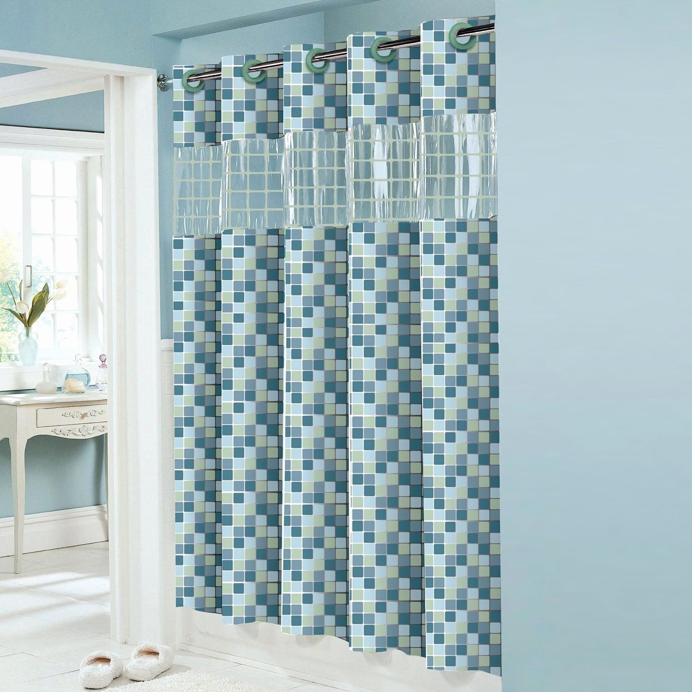 Standard Shower Curtain Liner Length • Shower Curtains Ideas