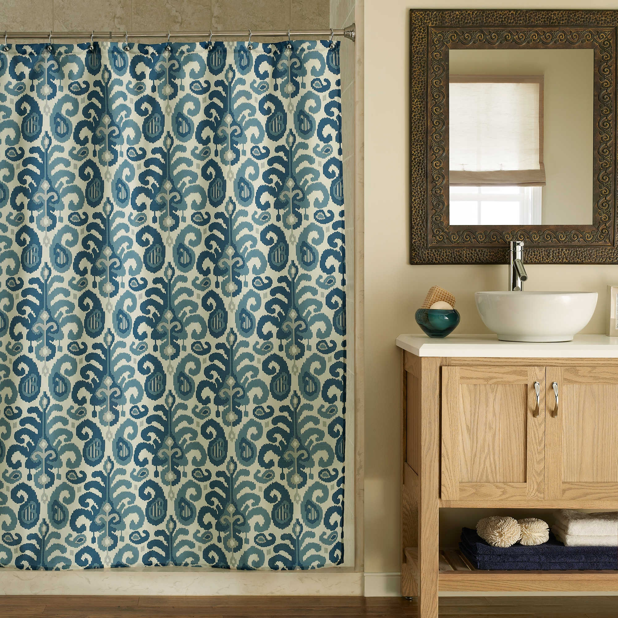 Northwoods Woodland Shower Curtain Shower Curtain within size 2000 X 2000