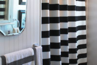 Of The Sailing In Your Bathroom With Stripednavy Shower Curtain Ideas pertaining to measurements 761 X 1500