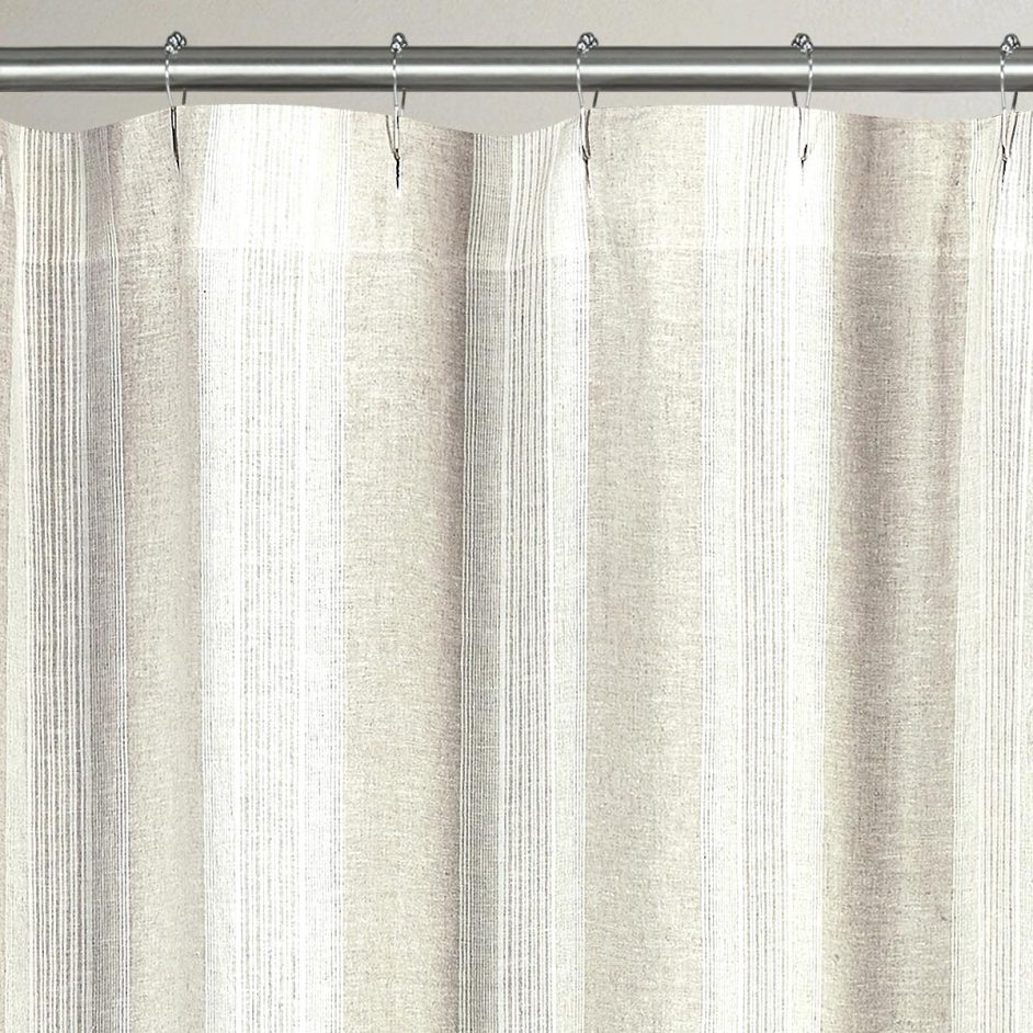 Organic Cotton Shower Curtain Natural Curtains Design Throughout Sizing 942 X