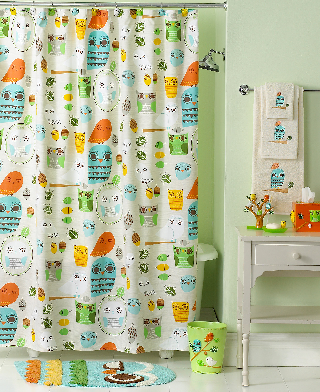 Childrens Shower Curtain Sets • Shower Curtains Ideas