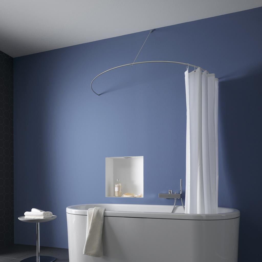 Amazing Phos Design Gmbh Product Curved Shower Curtain Rod As A Semi With Regard To  Proportions 1024