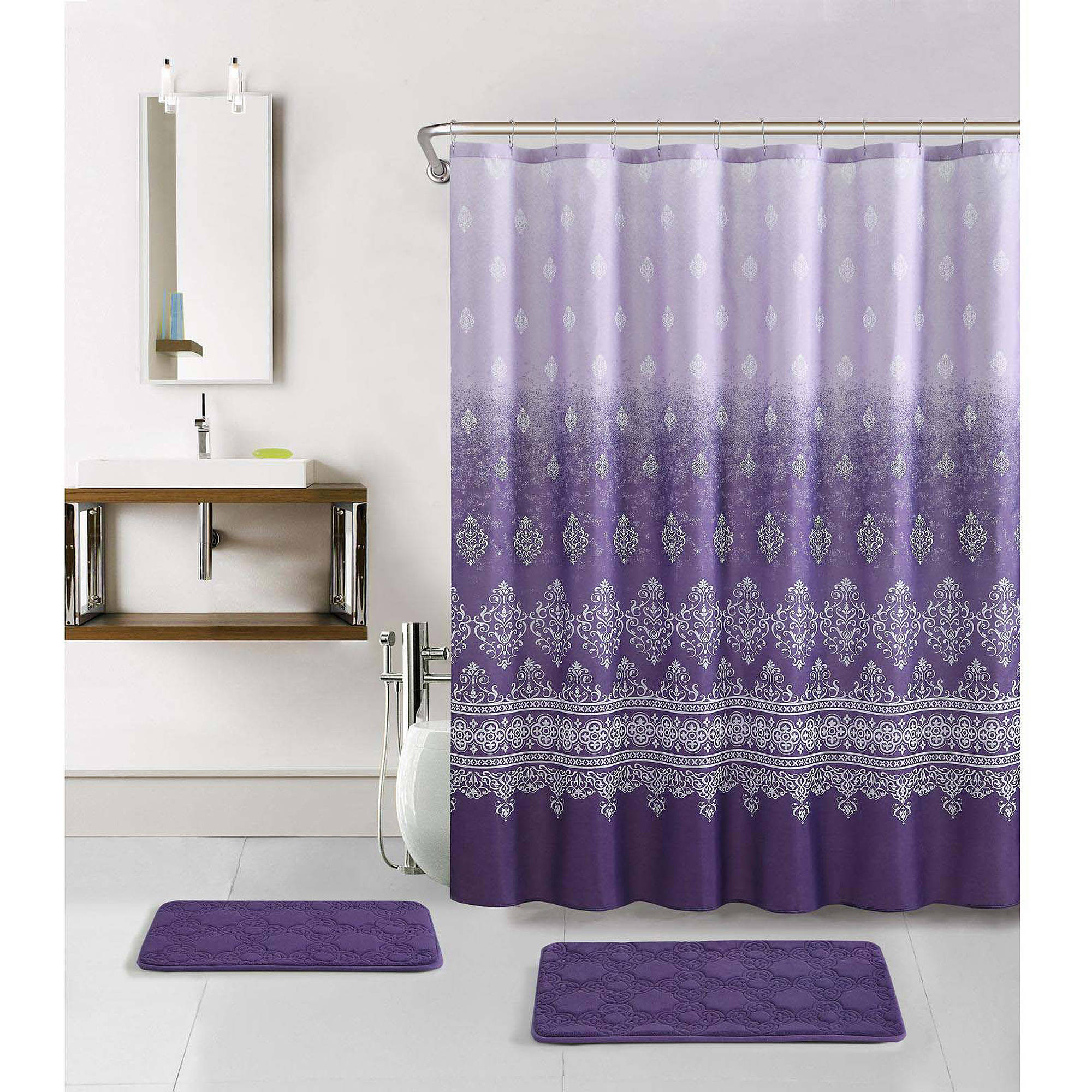 Shower Curtains And Rugs Sets • Shower Curtains Ideas