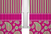 Pink And Green Paisley Shower Curtain Shower Curtain Design with regard to measurements 1490 X 1500