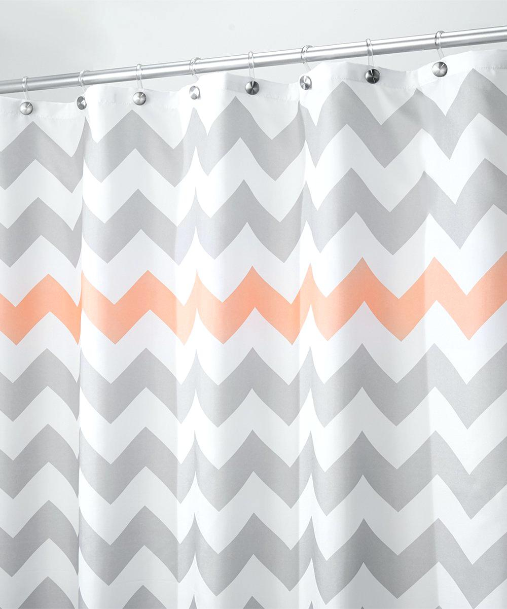 Pink And Grey Chevron Shower Curtain Shower Curtains Design within proportions 1000 X 1201