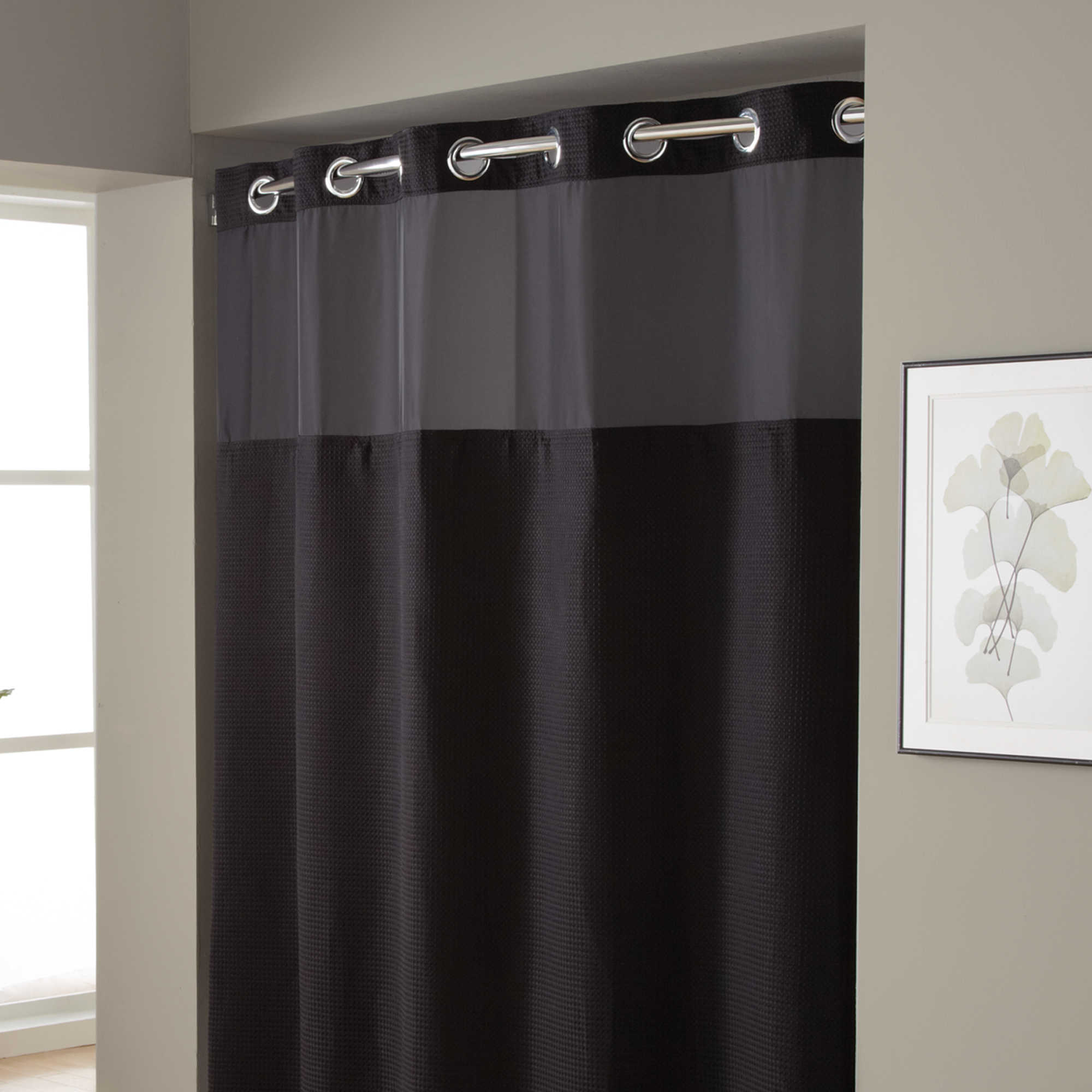 Hookless Shower Curtain Extra Long • Shower Curtains Ideas