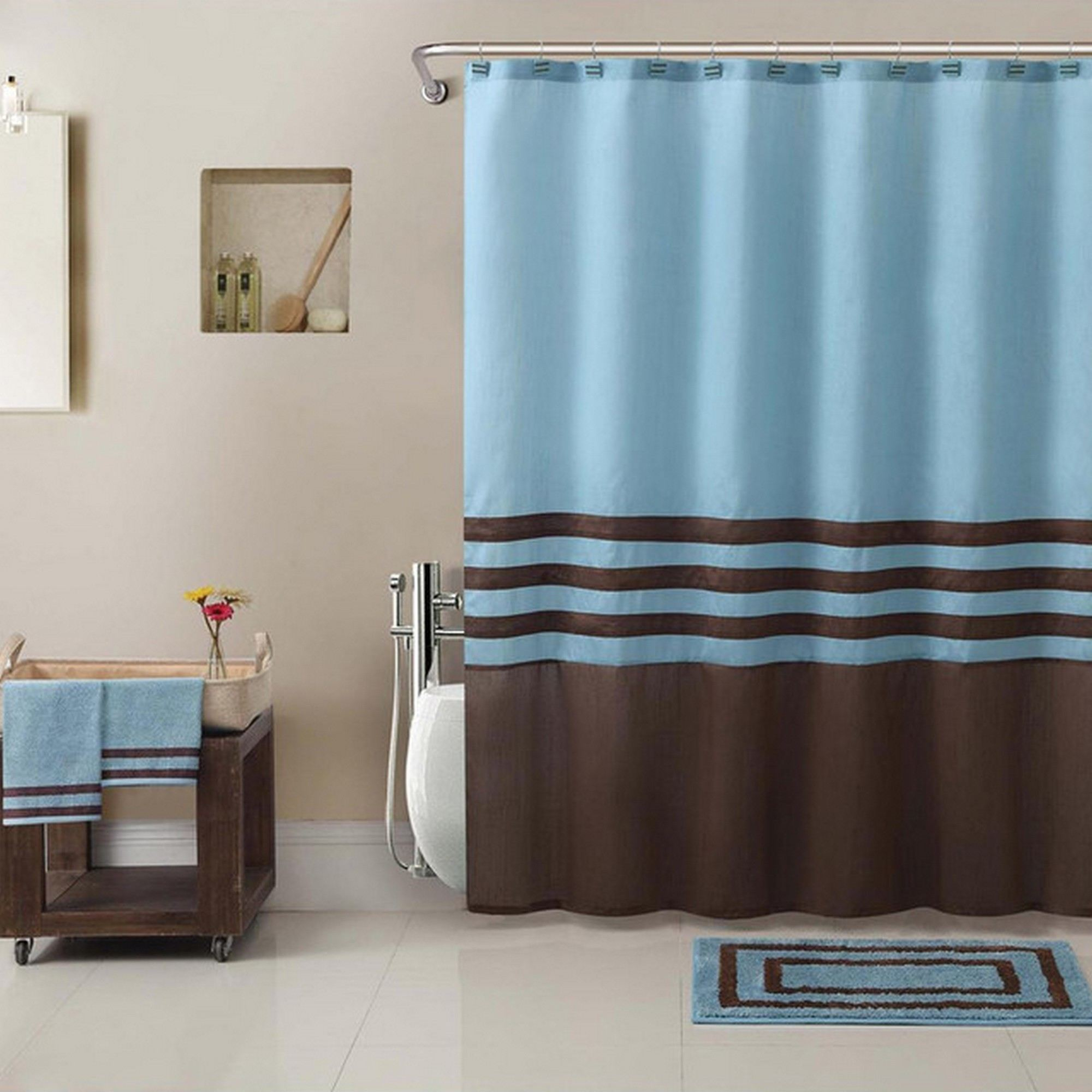 Tiffany Style Shower Curtain • Shower Curtains Ideas