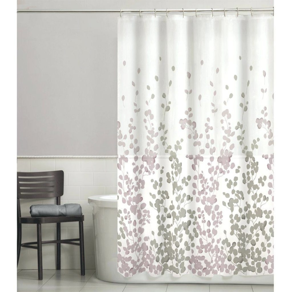 Purple And Grey Shower Curtain Ideas House Generation With Measurements 1024 X