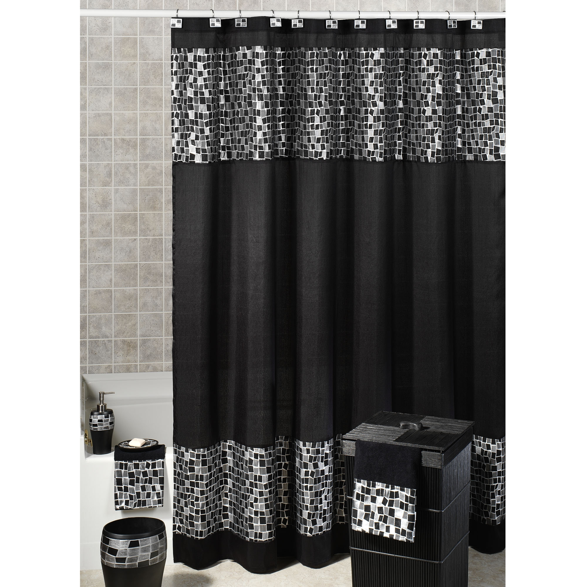 Red And Black Chevron Shower Curtain Shower Curtain Design Within  Proportions 2000 X 2000