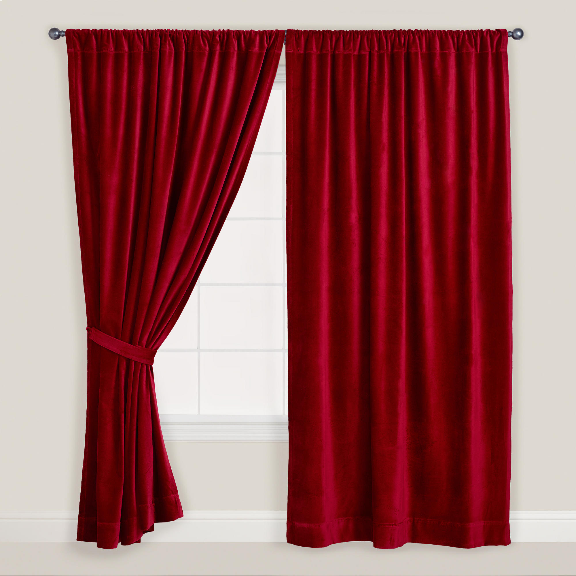 Red Velvet Curtain Simple Shower Curtains For Teal Curtains within dimensions 2000 X 2000