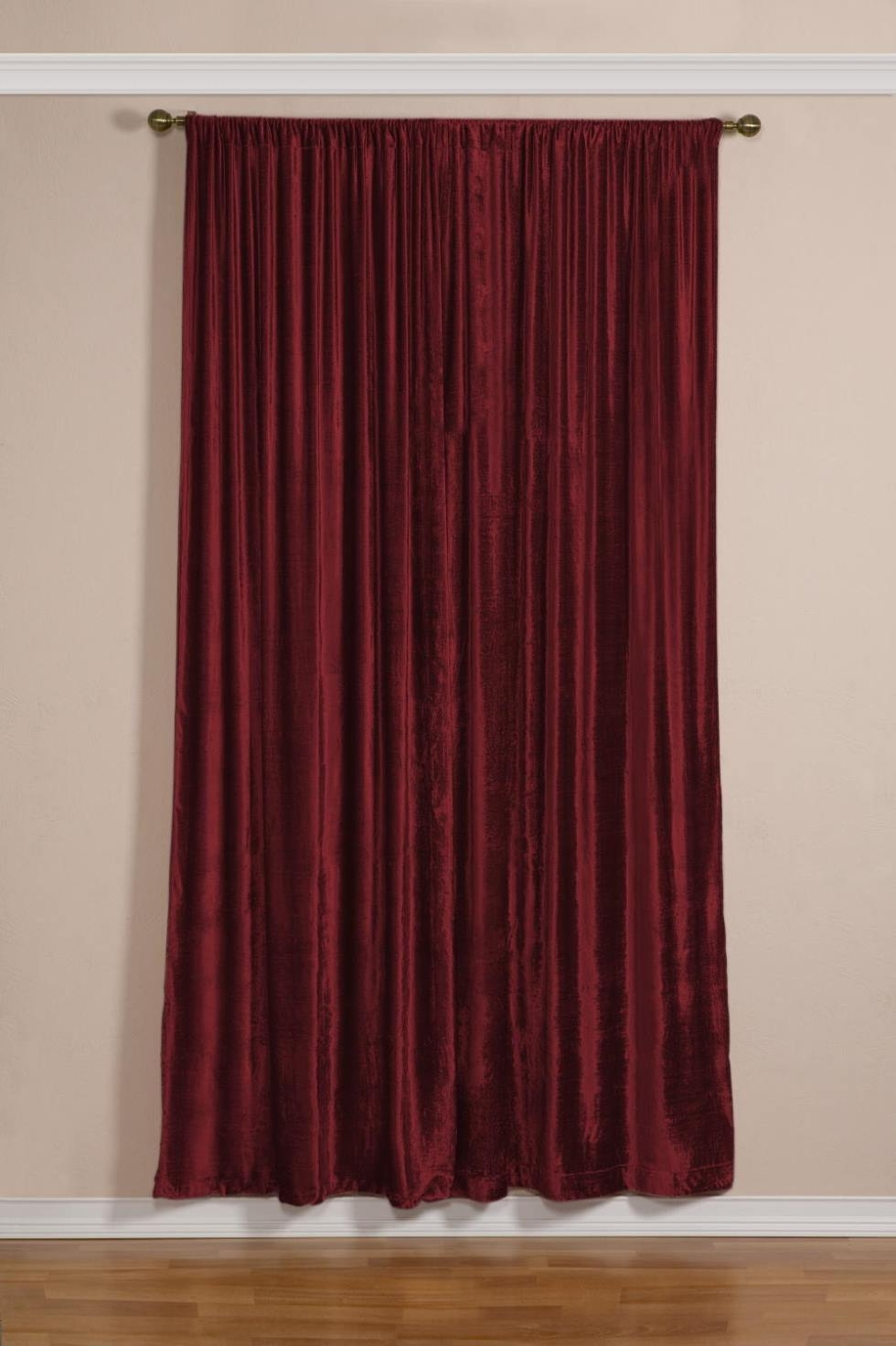 Red Velvet Shower Curtain Shower Curtain for sizing 980 X 1471