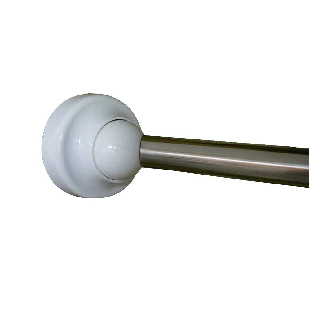 Rotator Rod 60 In Stainless Steel Rotating Curved Shower Rod In pertaining to sizing 1000 X 1000