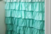 Ruffle Shower Curtain For Teenage Ideas Direct Divide pertaining to dimensions 736 X 1305
