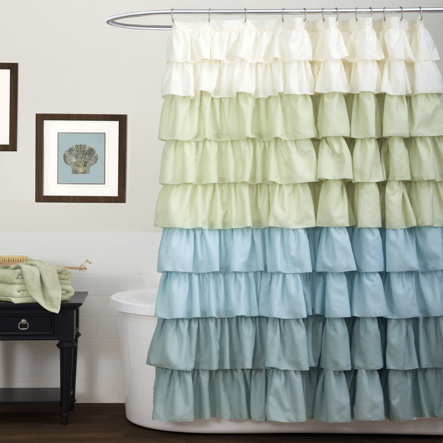 Ruffle Shower Curtain Walmart in proportions 1500 X 1500