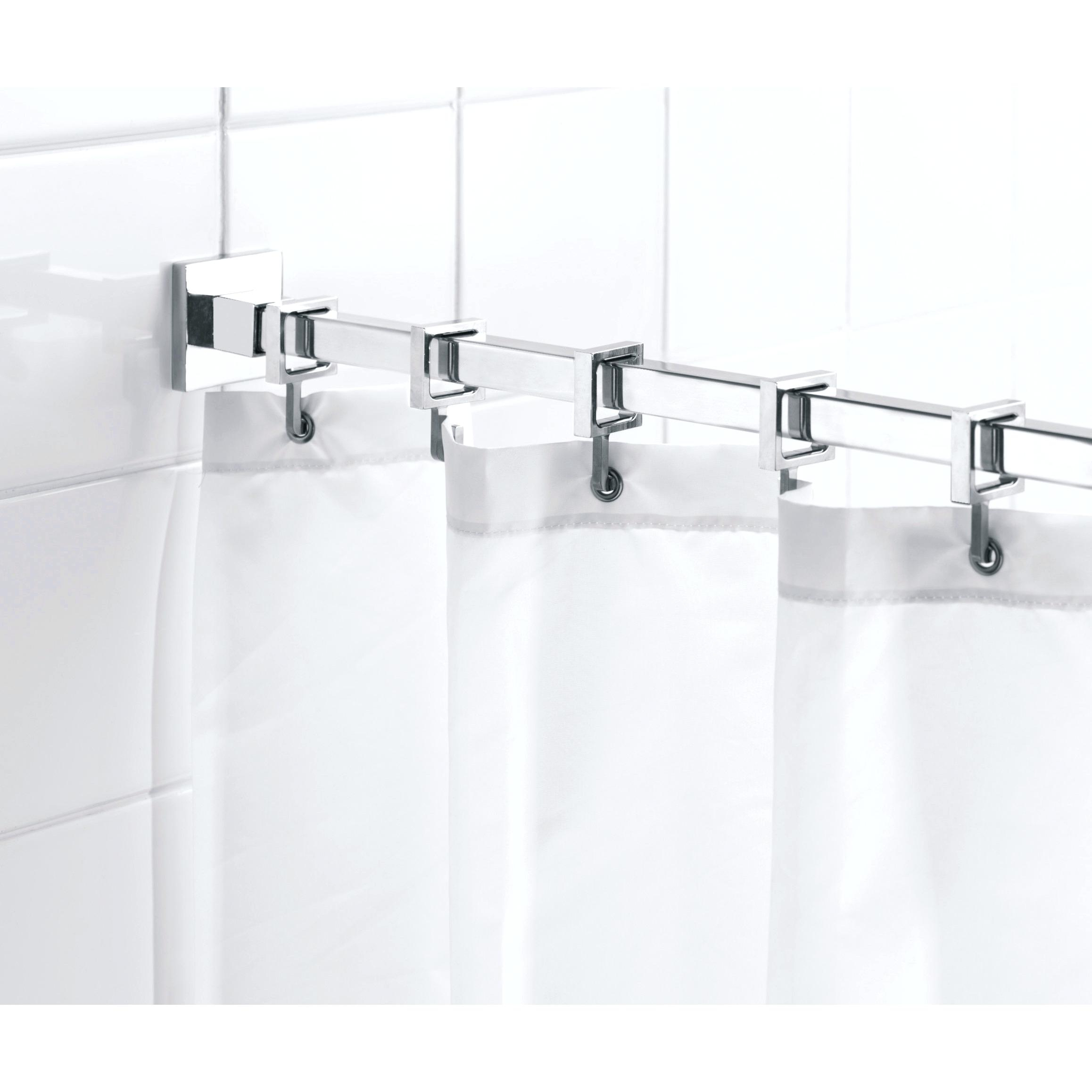 Rv Extended Shower Curtain Rod Shower Curtains Design with regard to sizing 2316 X 2316
