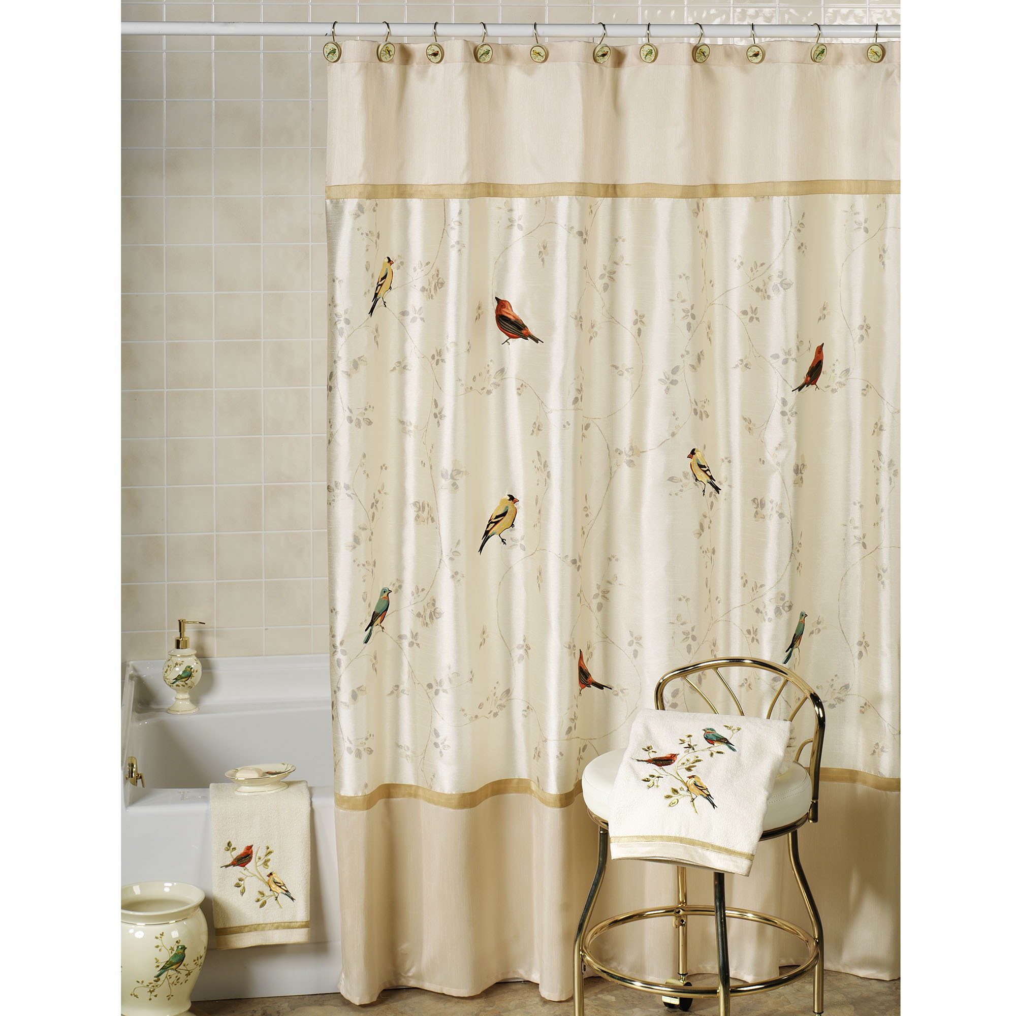 Scenic Bath Accessories Avanti Shower Curtain Hooks With Size 2000 X