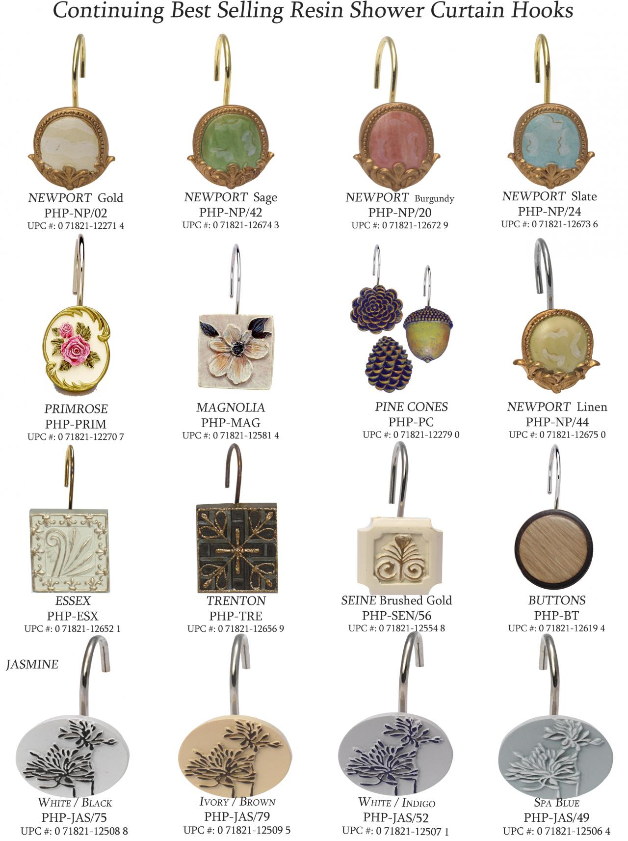 Types Of Shower Curtain Hooks • Shower Curtains Ideas