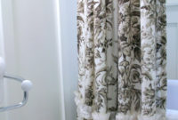 Shower Curtains Toile Bathroom Lighting Vanity Fixtures in size 1000 X 1500