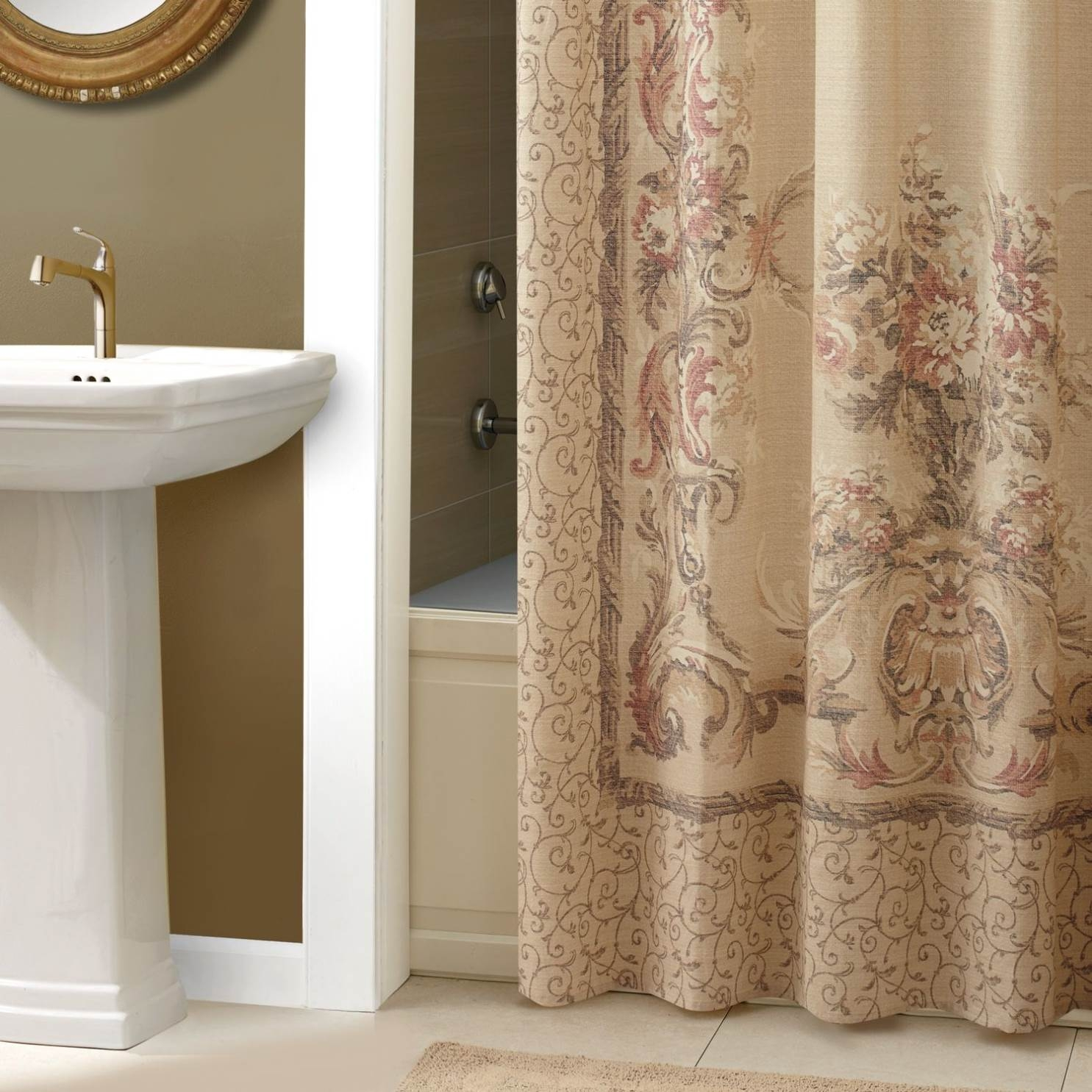Shower Curtains With Matching Window Curtains And Valances with size 1485 X 1485