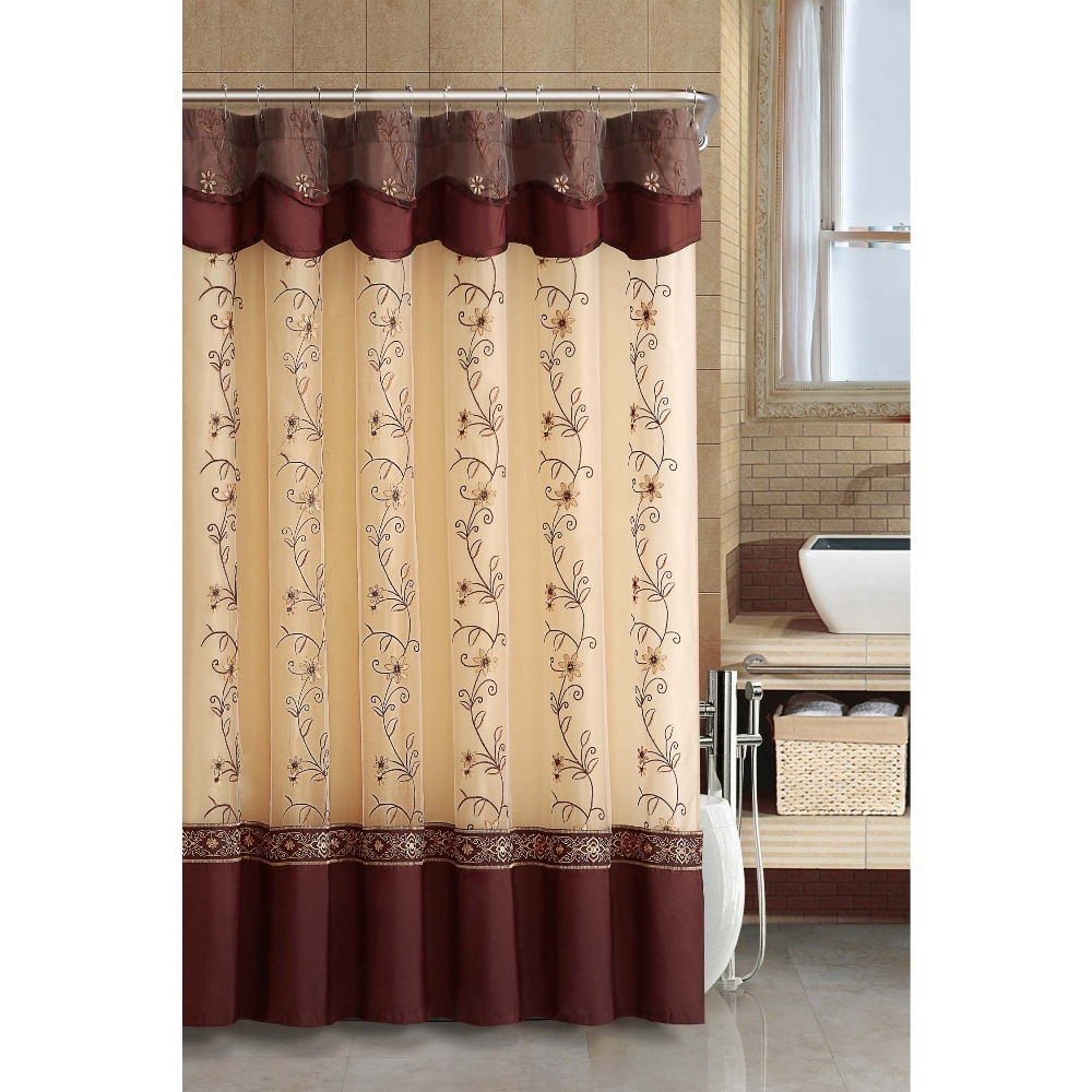 Shower Curtains With Valance Style Shower Curtains With Valance with sizing 1000 X 1000