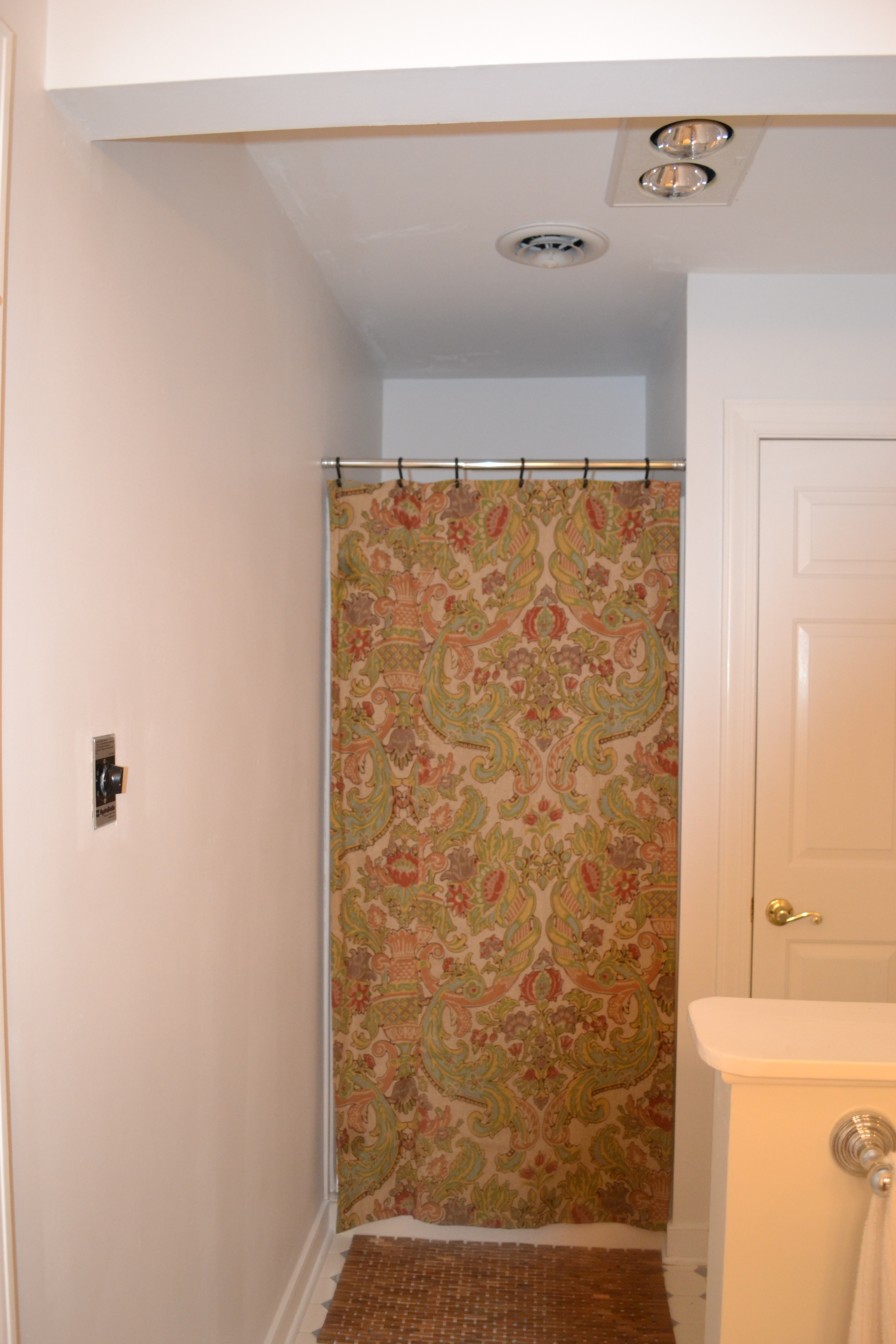 Shower Stall Curtain Rod.Small Shower Stall Curtain Rod