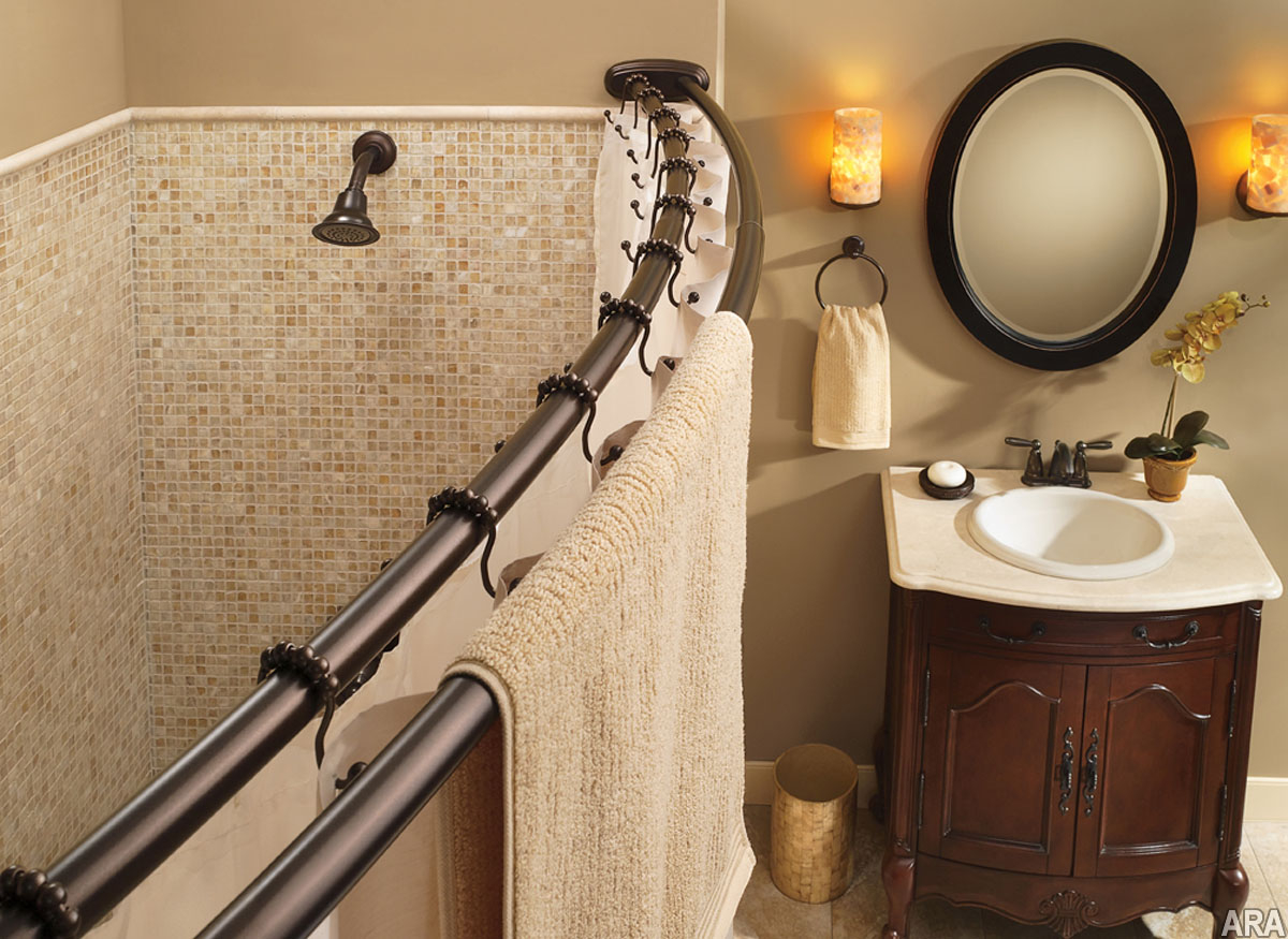 Shower Curtain Rod For Shower Stall • Shower Curtains Ideas