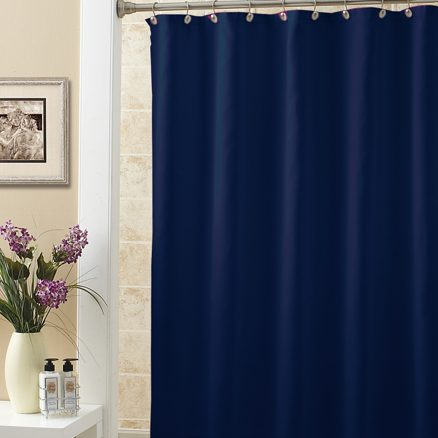 Solid Blue Shower Curtain Scheduleaplane Interior Cool Ideas Throughout Dimensions 900 X