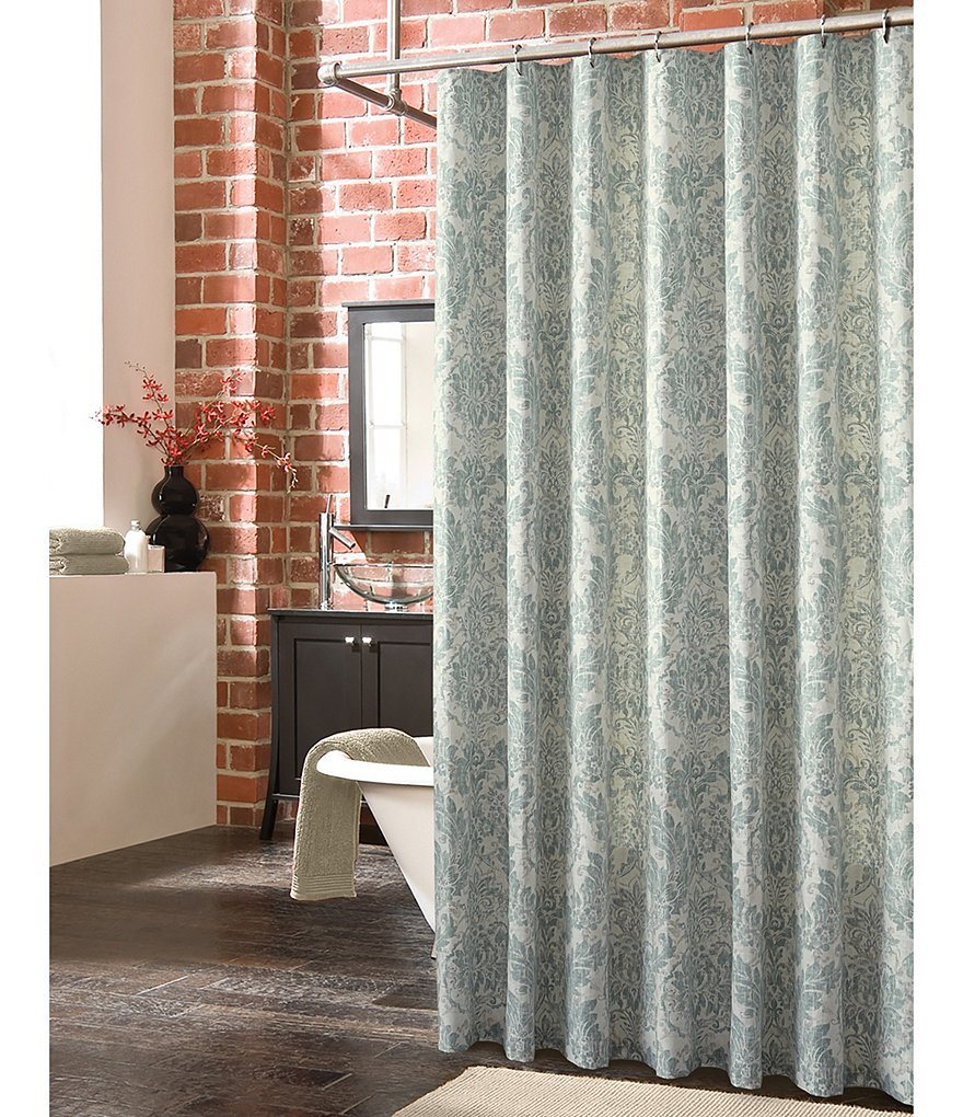 Southern Living Atelier Shower Curtain Dillards intended for size 880 X 1020
