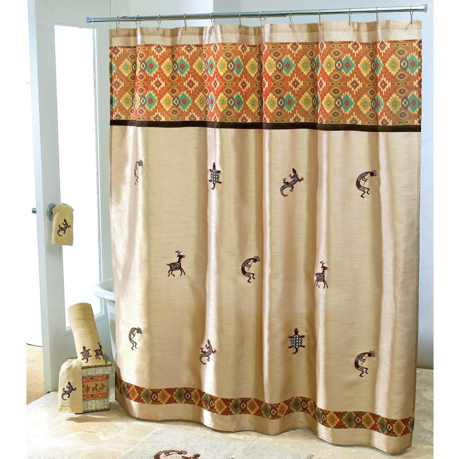 Southwest Shower Curtain Hooks Shower Curtains Design within sizing 942 X 942