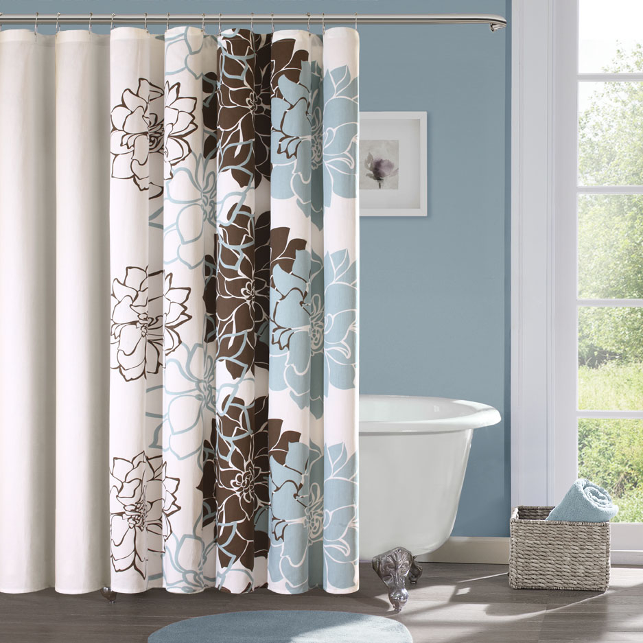 teal and brown shower curtain. Special Brown Shower Curtain Scheduleaplane Interior Regarding Sizing 937 X  Light Blue And Curtains Ideas