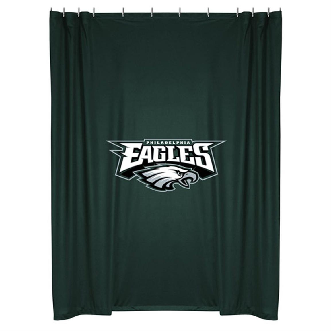 Sports Coverage Nfl Team Shower Curtain 218098 Bath At within proportions 1154 X 1154