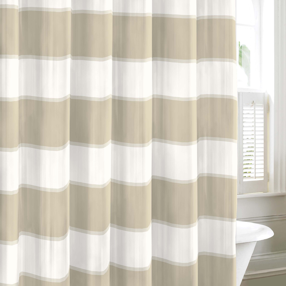 white bradford black measurements x walmart for shower intended curtain horizontal brown nautica striped curtains and