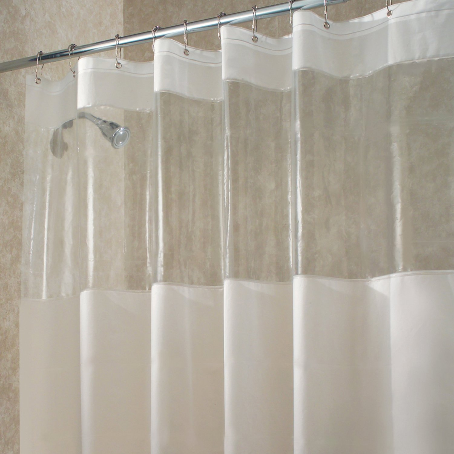 Stunning Decoration Long Shower Curtain Liner Classy Design intended for measurements 1500 X 1500