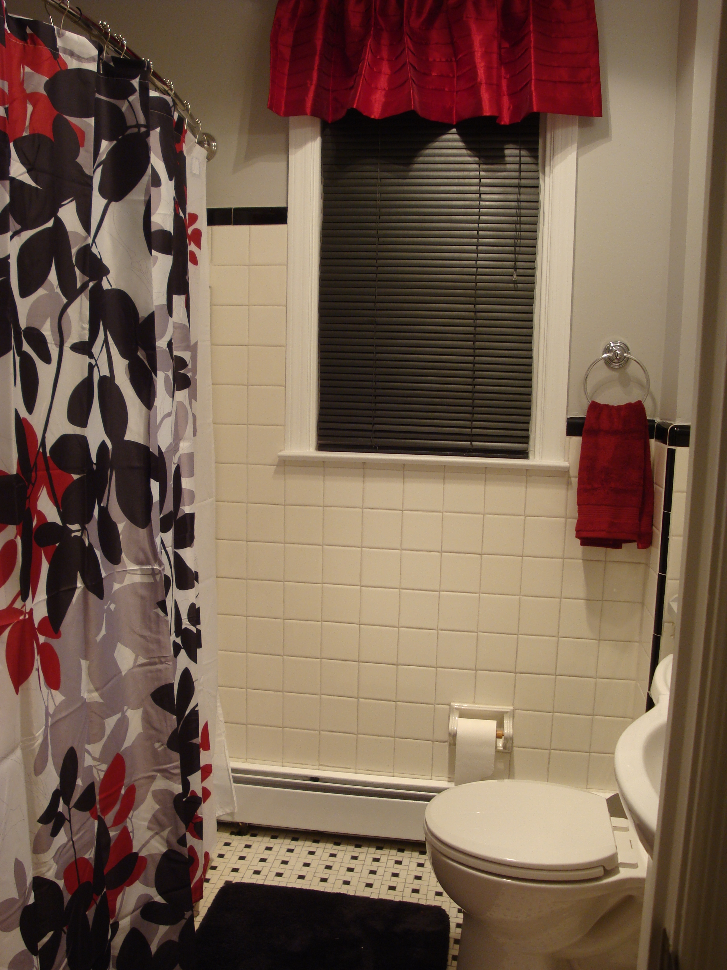 Stunning Ideas Black And Red Shower Curtain Spectacular Design intended for dimensions 2448 X 3264