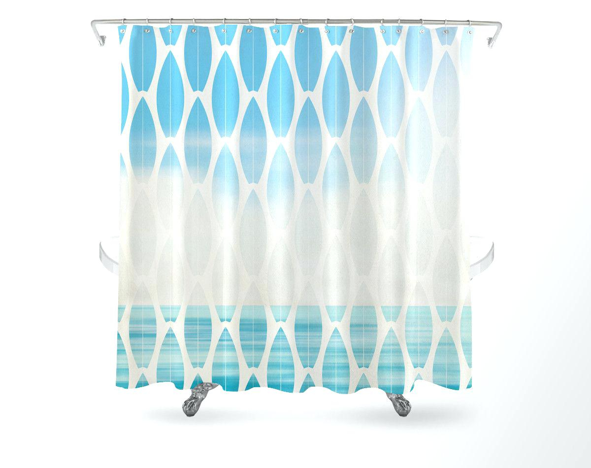 Surf Shower Curtain Hooks • Shower Curtains Ideas