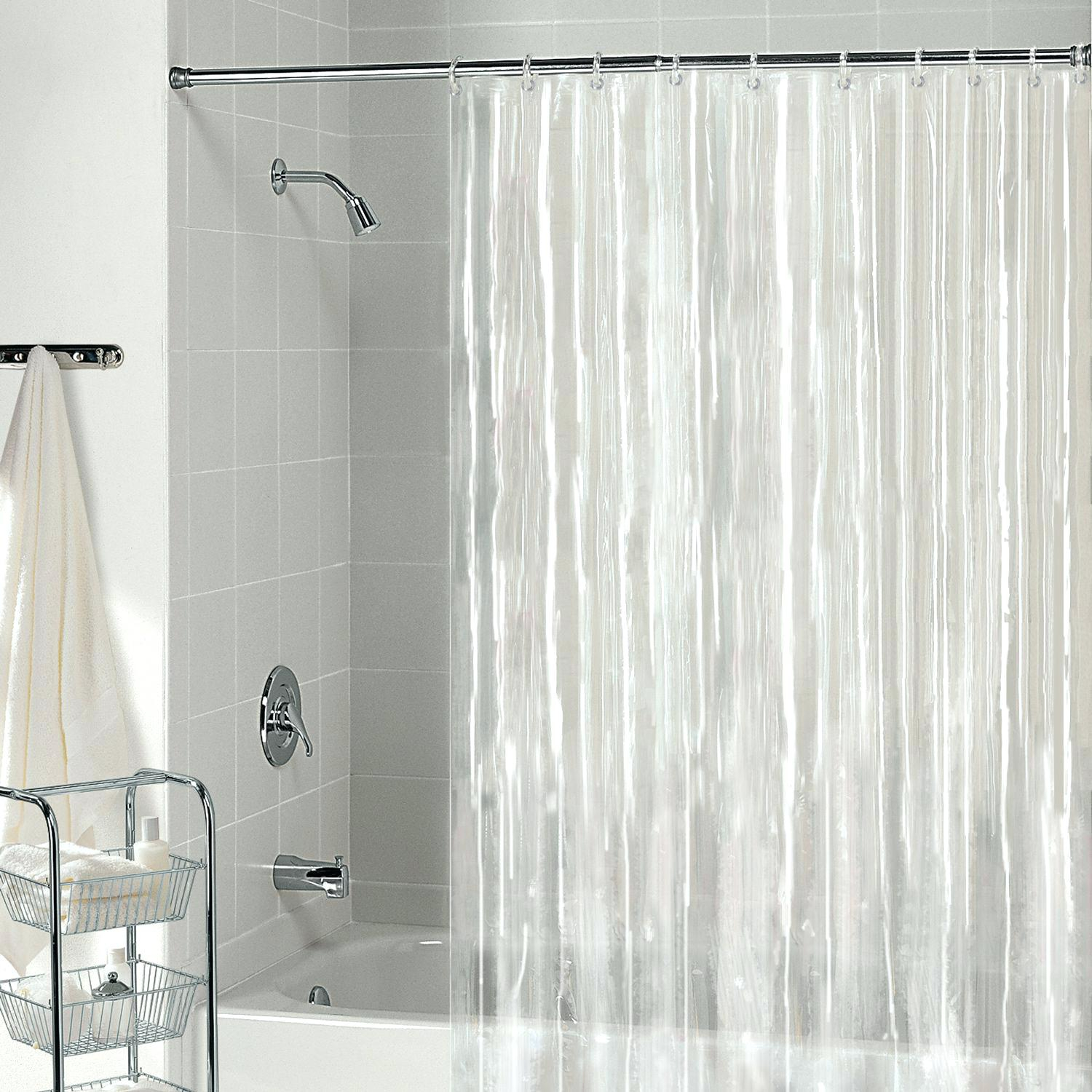 Tall Shower Curtain Splash Guard • Shower Curtains Ideas