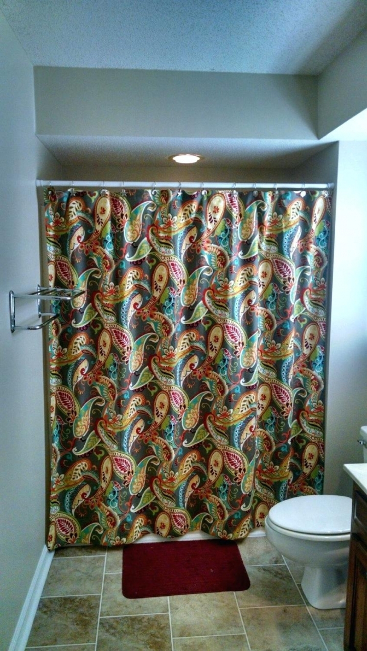 Themed Ba Shower Mardi Gras Octopus Curtain Bathroom Regarding Measurements 718 X 1275