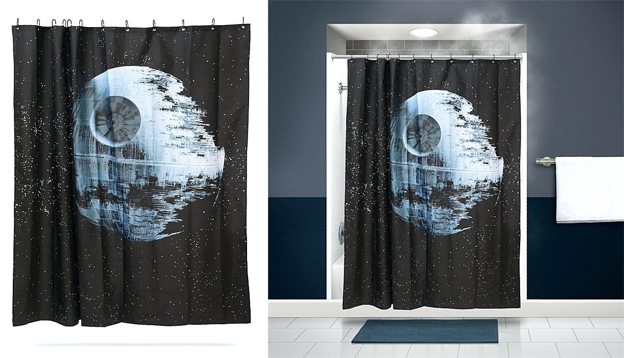 Thinkgeek Tardis Shower Curtain Shower Curtains Design in size 1220 X 700