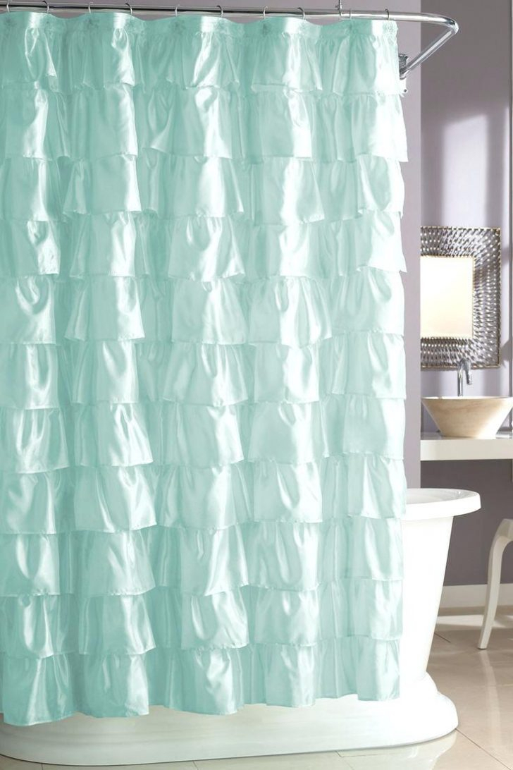 Tiffany Blue And Brown Shower Curtain Curtains Design Intended For Dimensions 728 X 1092