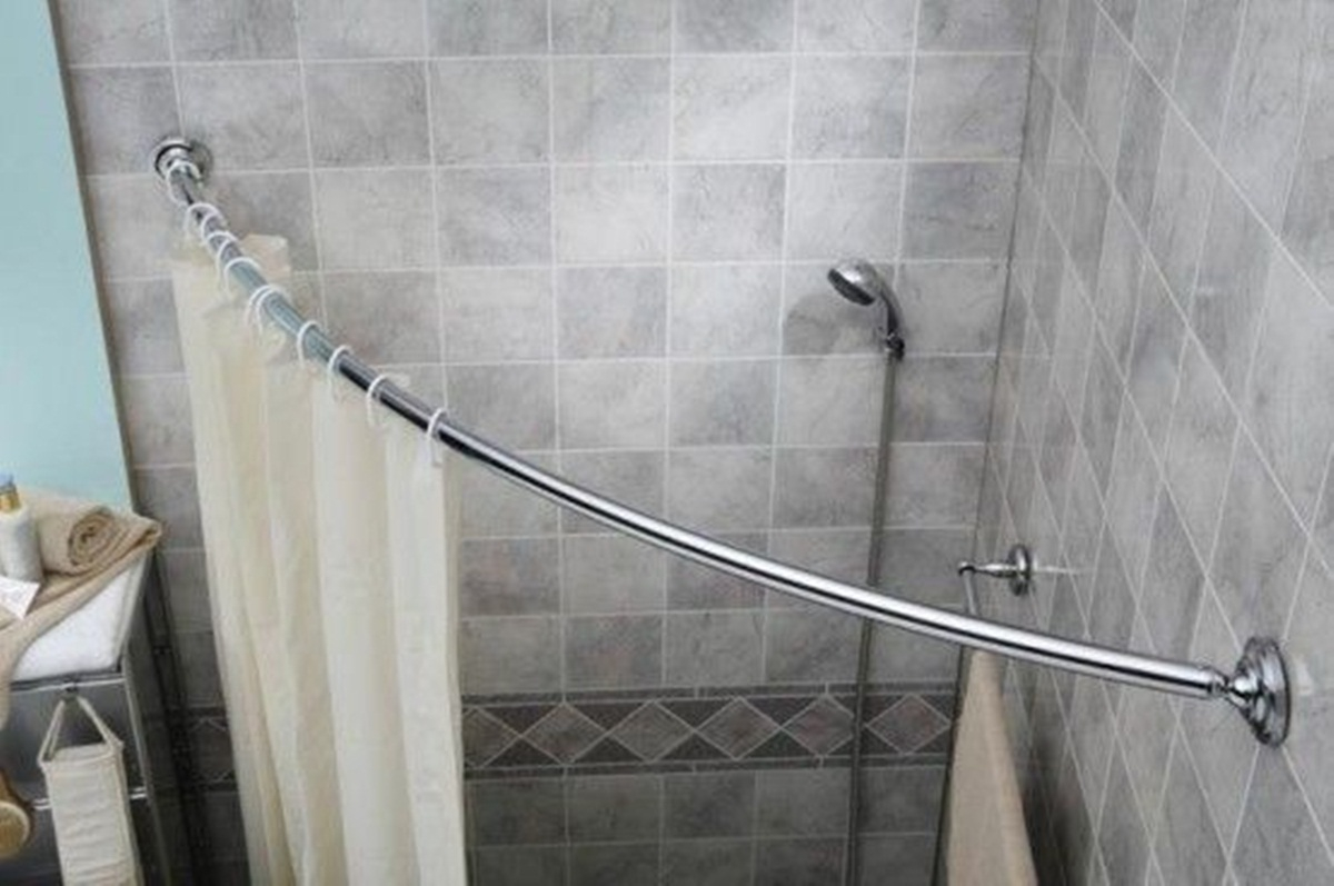 Tips Install Oval Shower Curtain Rod Indoor Outdoor Decor within sizing 1200 X 797