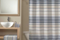 Transition Striped Fabric Shower Curtain Curtainworks in proportions 788 X 1000