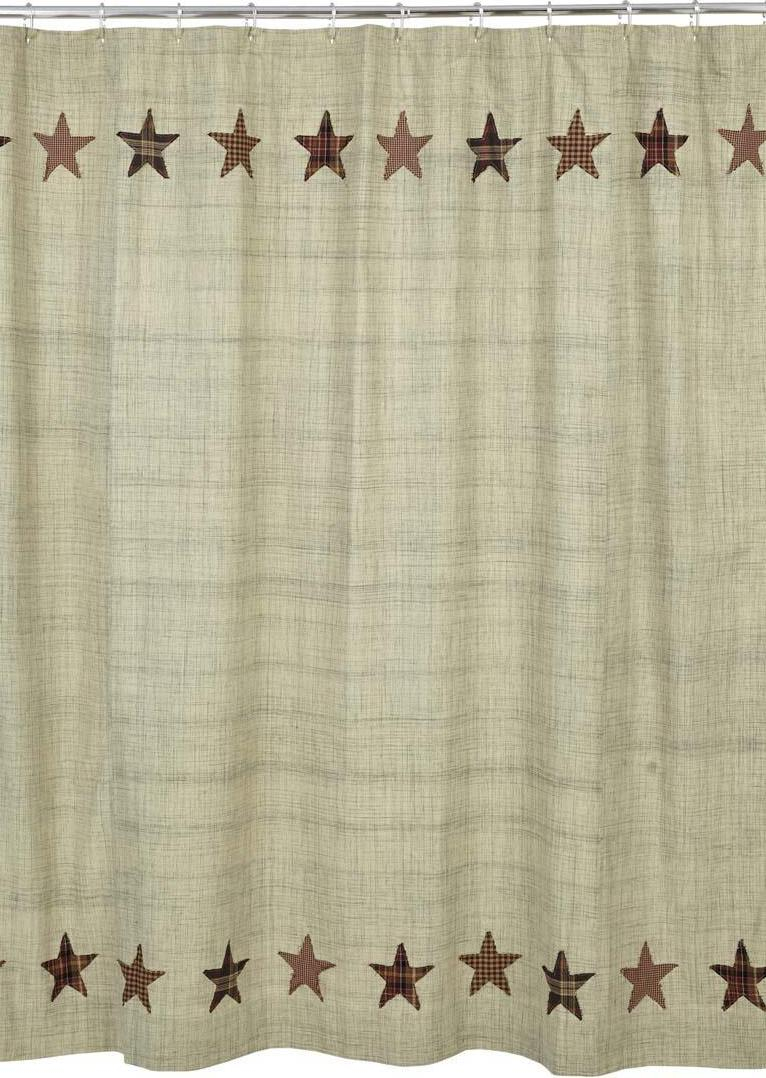 Vhc Country And Primitive Shower Curtains Regarding Sizing 766 X 1078