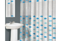 Vinyl Shower Curtains Fish Pattern Variety Pattern Vinyl Shower regarding sizing 1200 X 1000