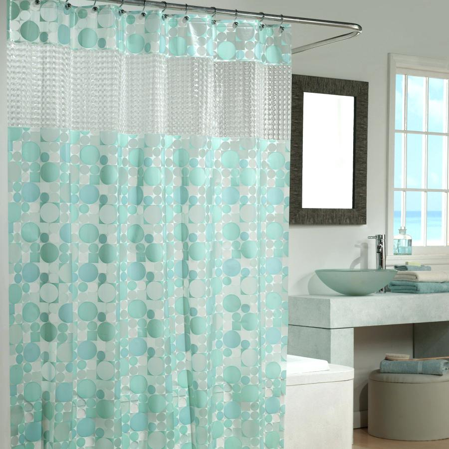 White And Light Green Shower Curtain Curtains Design Within Dimensions 900 X
