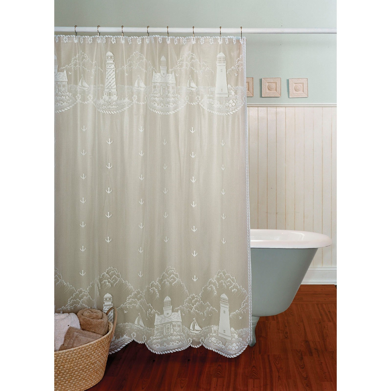 Sheer Cloth Shower Curtain • Shower Curtains Ideas