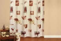 Woolrich Woodlands Shower Curtain Accessories Cabin Place throughout size 1001 X 1001