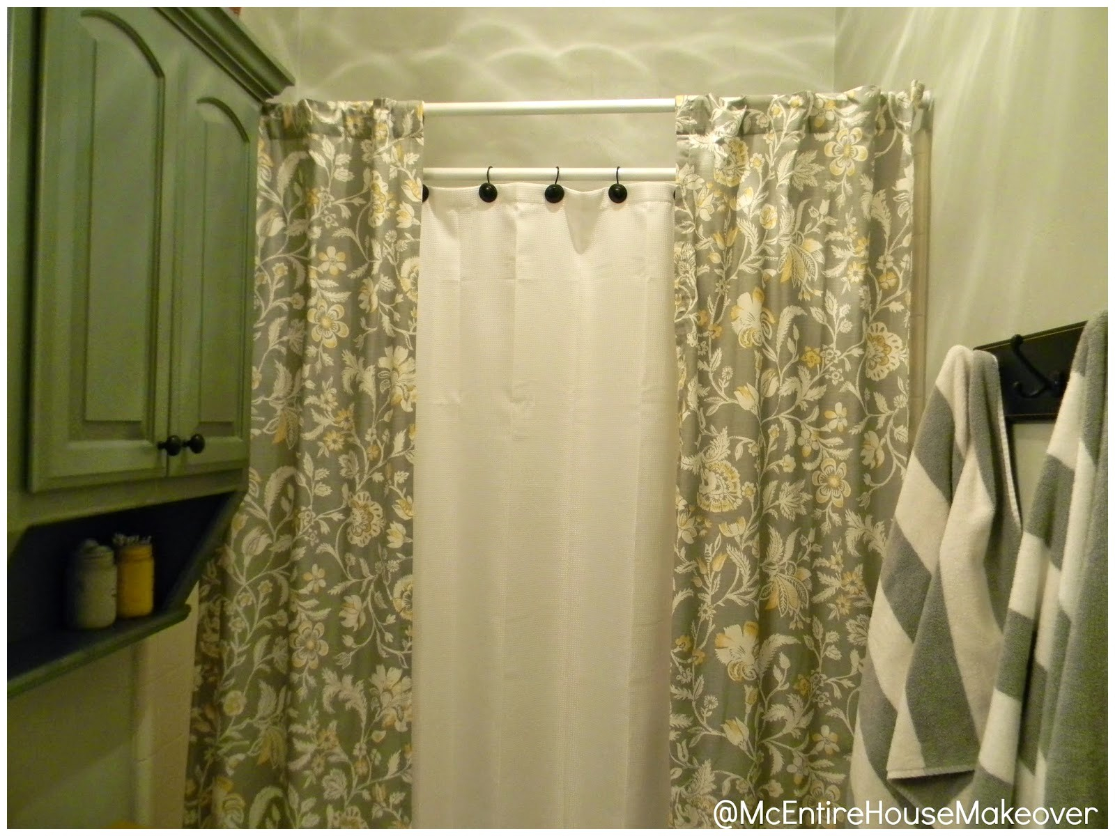 2 Panel Shower Curtains Ideas