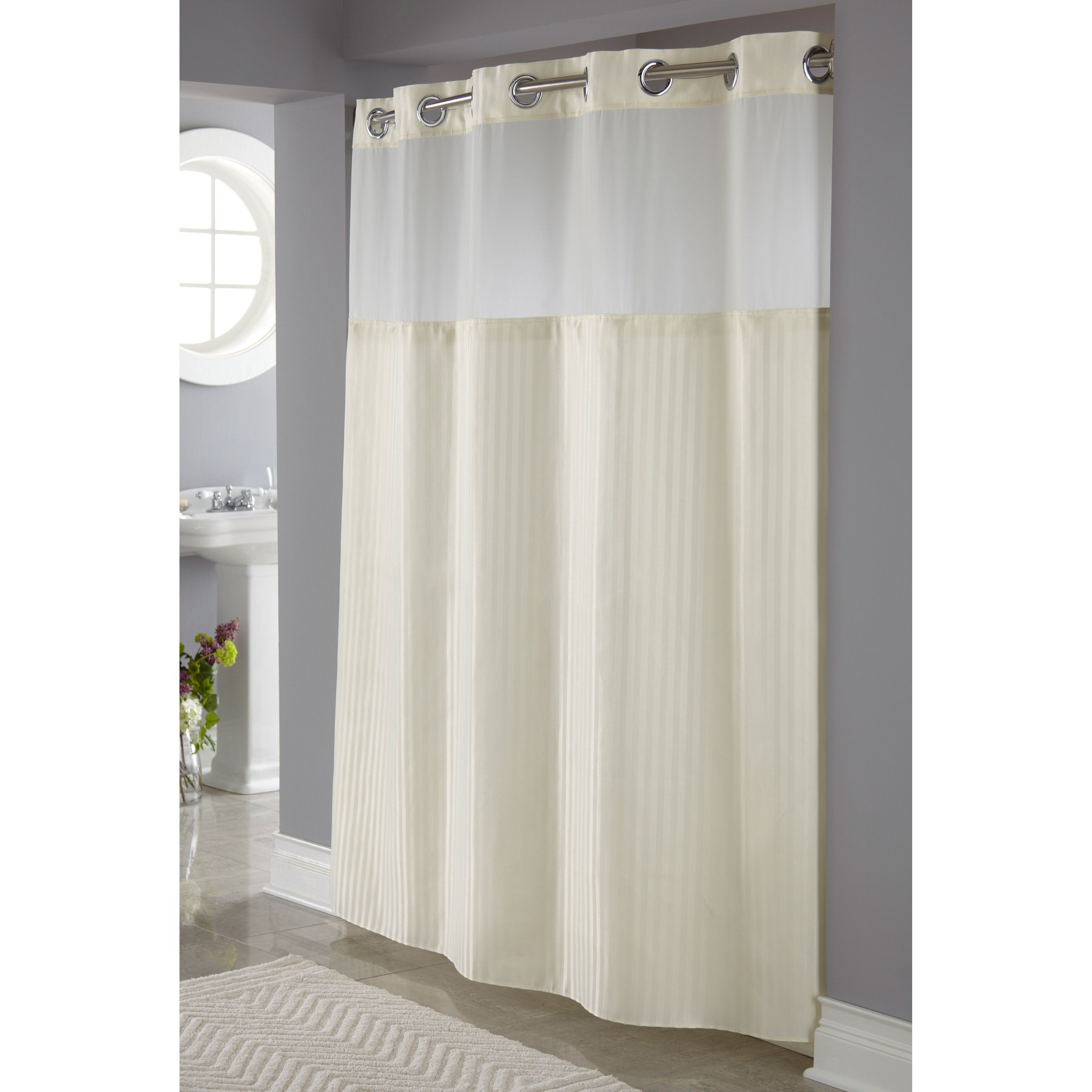 Bathroom Colorful Pattern Shower Curtains With Extra Long Shower regarding measurements 3200 X 3200
